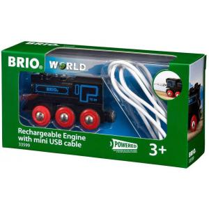 Brio - 33599 - Locomotive rechargeable - Age 3 ans + (433342)