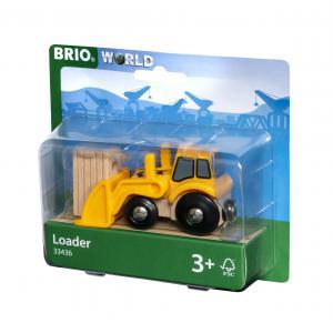 Brio - 33436 - Tractopelle - Thème Transport de marchandises - Age 3 ans + (433346)