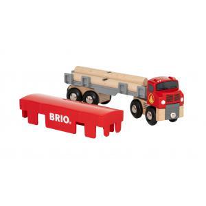Brio - 33657 - Camion de transport de bois - Thème Transport de marchandises - Age 3 ans + (433356)