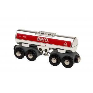 Brio - 33472 - Wagon citerne - Thème Transport de marchandises - Age 3 ans + (433358)