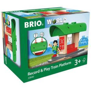 Brio - 33840 - Gare a enregistreur vocal - Thème Voyageur - Age 3 ans + (433380)