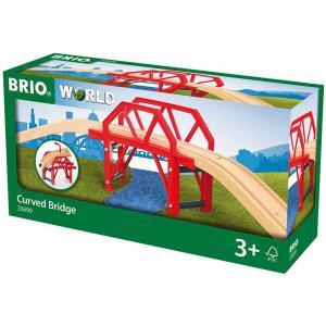 Brio - 33699 - Pont courbe - Age 3 ans + (433384)