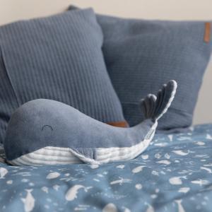 Little-dutch - LD4807 - LD Peluche Baleine Grande - Ocean blue (434308)