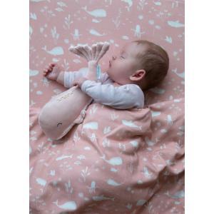 Little-dutch - LD4806 - LD Peluche Baleine Grande - Ocean pink (434312)