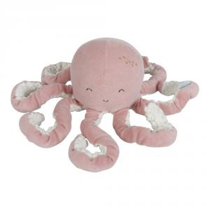 Little-dutch - LD4803 - LD Peluche Pieuvre - Ocean pink (434324)