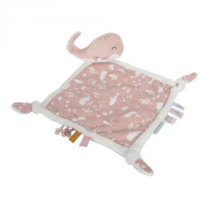 Little-dutch - LD4809 - LD Doudou Baleine - Ocean pink (434342)