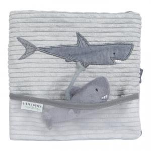 Little-dutch - LD4849 - LD Livre tissu d'activités - Ocean blue (434368)
