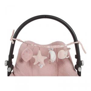 Little-dutch - LD4830 - LD Chaîne d'activités pour poussette - Ocean pink (434386)