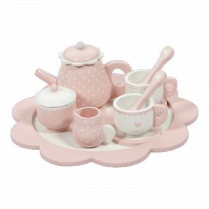 Little-dutch - LD4381 - LD Service à thé en bois - pink (434502)