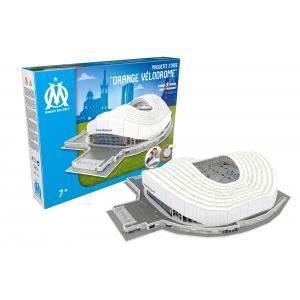 Megableu editions - 678265 - Puzzle 3D Stade de l'Olympique de Marseille - 69 pièces - 7 ans et (436446)