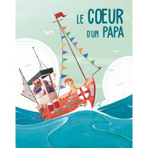 Sassi - 302563 - Editions sassi - le coeur d'un papa - âge conseillé : 5 ans (436496)