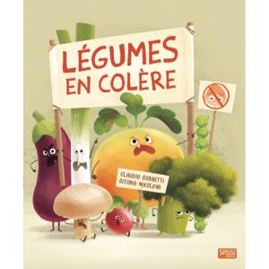 Sassi - 302327 - Editions sassi - légumes en colère - âge conseillé : 5 ans (436498)