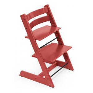 Stokke - BU336 - Chaise haute avec sa baby set Tripp trapp Warm red (dès 6 mois) (437112)