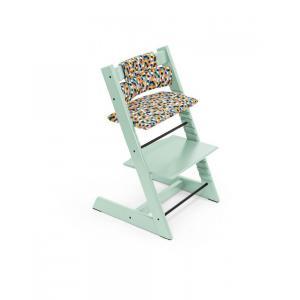 Stokke - BU337 - Tripp trapp Soft mint chaise haute, babyset et coussin (dès 6 mois) (437114)
