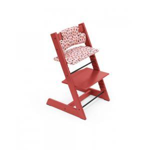Stokke - BU338 - Tripp trapp chaise haute Warm red avec babyset et coussin (dès 6 mois) (437116)