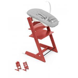 Stokke - BU340 - Chaise haute dès la naissance Tripp trapp  Warm red (437120)