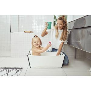 Stokke - 531907 - Flexi Bath baignoire pliable blanc-noir (437132)