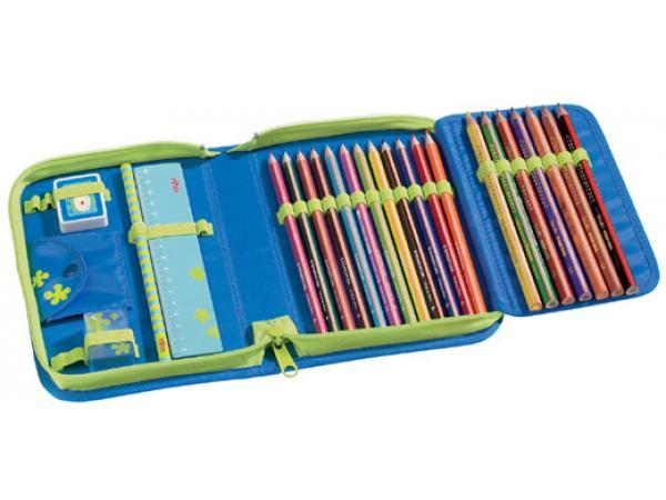 Haba trousse crayons a l 39 cole des coccinelles - Tuto trousse crayons de couleur ...