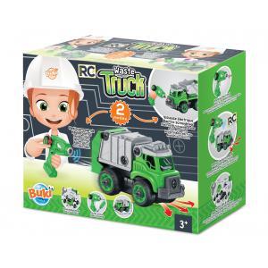 Buki - 9021 - Camion Poubelles RC (450234)