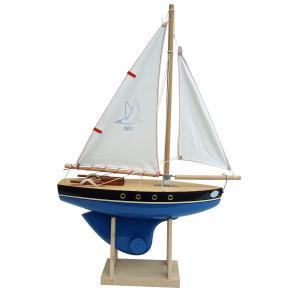 Tirot - 500 - VOILIER  30 cm avec support - Coloris aléatoire (451226)