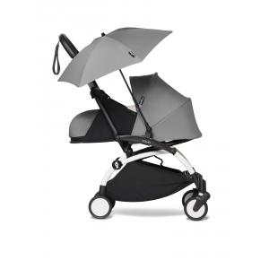 Babyzen - BU665 - YOYO 2 poussette compacte Babyzen avec son ombrelle gris blanc 0+ (451382)