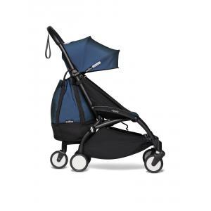 Babyzen - BU798 - Poussette YOYO 2 maniable et légère avec YOYO+ bag bleu Air France noir 0+ 6+ (451594)