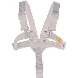 Leander - 305683 - Harnais de sécurité pour chaise haute Classic, Blanc (452210)