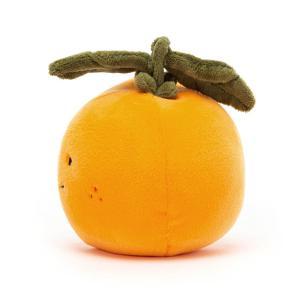 Jellycat - FABF6O - Peluche orange Fabulous Fruit - l = 10 cm x H =9 cm (452436)