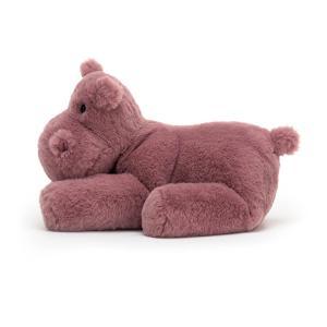 Jellycat - HUG2H - Peluche hippopotame Huggady - l = 12 cm x H =22 cm (452542)