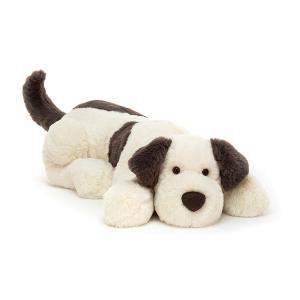 Jellycat - DASH1HDG - Peluche chien Dashing - Hug - L = 16 cm x l = 18 cm x H =60 cm (452580)