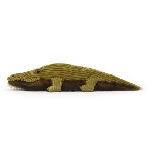 Jellycat - WLY2C - Peluche crocodile Wiley - l = 63 cm x H =14 cm (452634)