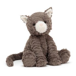 Jellycat - FW6CAT - Peluche chat Fuddlewuddle - l = 11 cm x H =23 cm (452726)