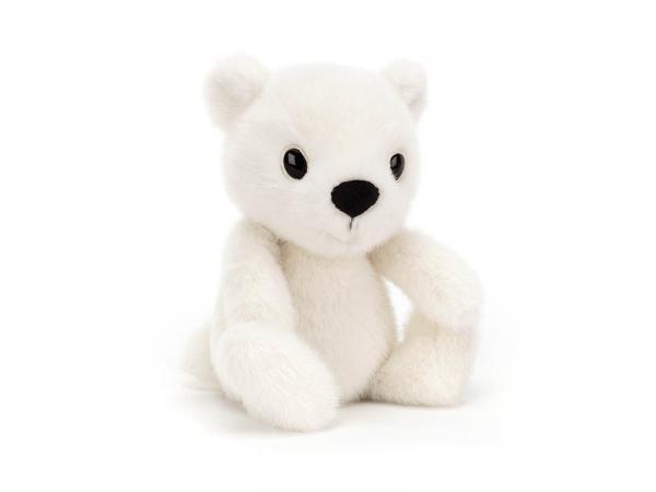 Peluche ours polaire fuzzle - 20 cm