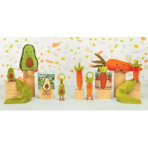 Jellycat - VVJ4C - Vivacious Vegetable Carrot Jitter - 15 cm (452816)