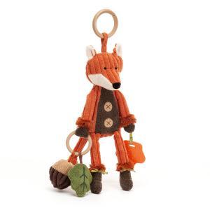 Jellycat - SRA2F - Cordy Roy Fox Activity Toy - 28 cm (452848)