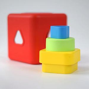 Bioserie Toys - S2BC01 - Cube a trier e Cube a trier et empiler (452894)