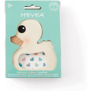 Hevea - 7213105 - Anneau de dentition en caoutchouc naurel canard (452902)