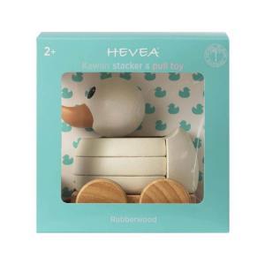 Hevea - 561206 - Canard en bois à empiler et à tirer (452904)