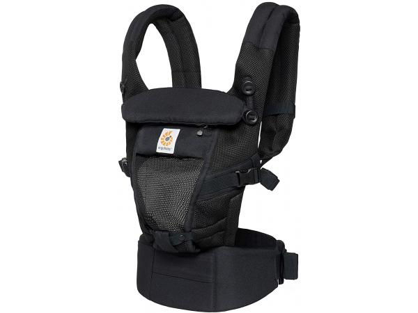 Porte-bébé adapt cool air mesh noir onyx