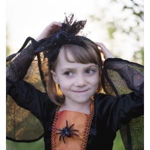 Great Pretenders - 33295 - Sybille la socrcière araignée, robe et coiffe, taille EU 104-116 - Ages 4-6 years (454670)