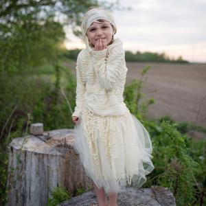 Great Pretenders - 65503 - Costume de momie avec jupe, taille EU 92-104 - 2-4 ans (454688)