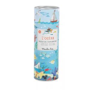 Moulin Roty - 712409 - Puzzle de l'explorateur L'Océan (96 pièces) Le jardin du Moulin (454768)