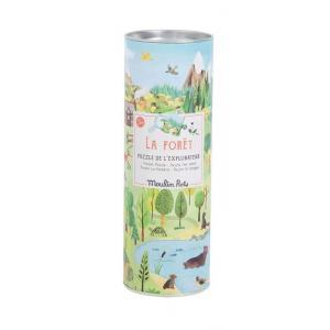 Moulin Roty - 712410 - Puzzle de l'explorateur La Forêt (96 pièces) Le jardin du Moulin (454770)