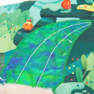 Moulin Roty - 668085 - Grand livre tissu d'activités Dans la jungle (454804)