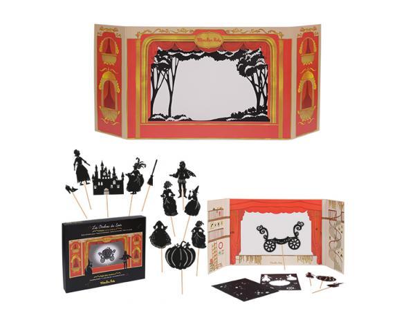 Théâtre en carton et ses ombres les petites merveilles