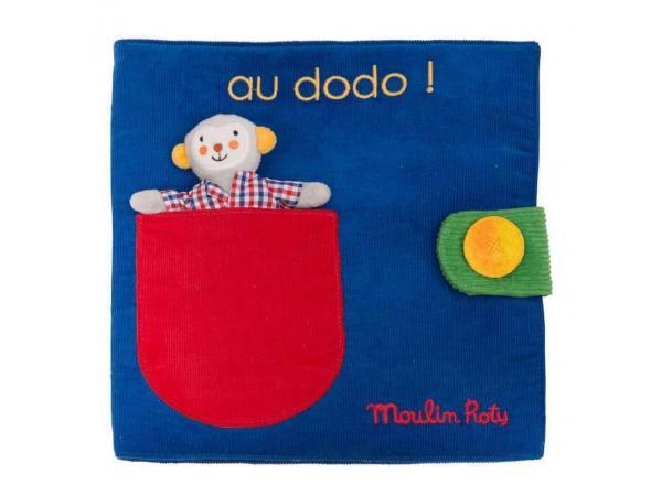 Livre tissu au dodo les popipop