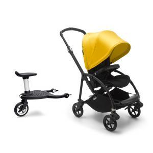 Bugaboo - BU333 - Poussette Bugaboo bee 6 Jaune citron et planche à roulette confort+ (455040)