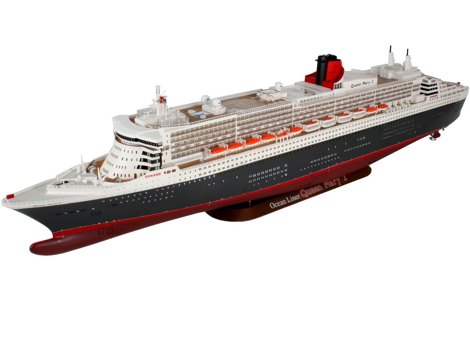 revell queen mary 2 1 400. Black Bedroom Furniture Sets. Home Design Ideas