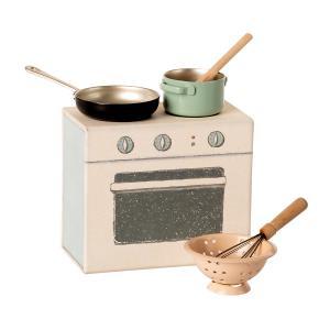 Maileg - 11-0112-00 - Set de cuisine mniature - Hauteur : 8 cm (455104)
