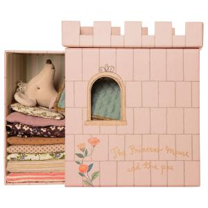 Maileg - 16-0738-01 - La Princesse Souris, Princess and the pea, Grande Sœur - Hauteur : 17 cm (455346)